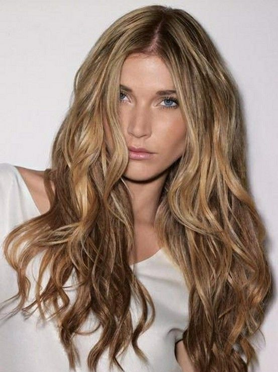 Soft beach waves and I love love love the color