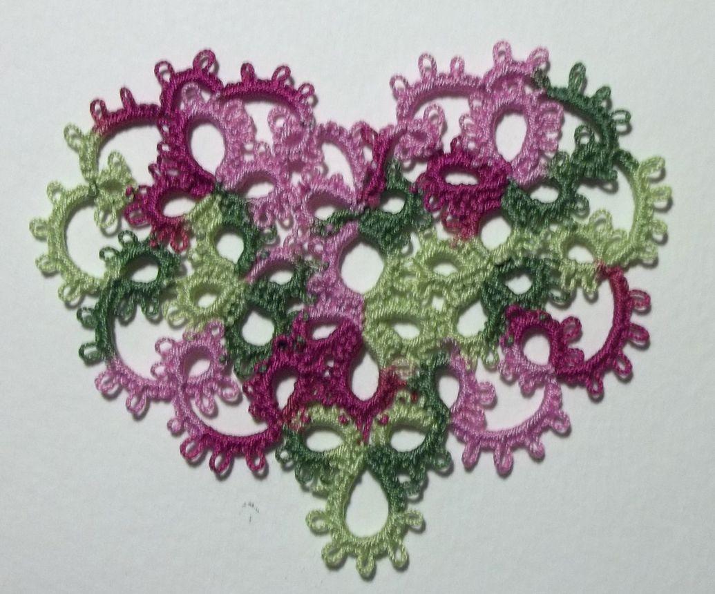 Heart! size 20 Lizbeth Spring Flowers thread