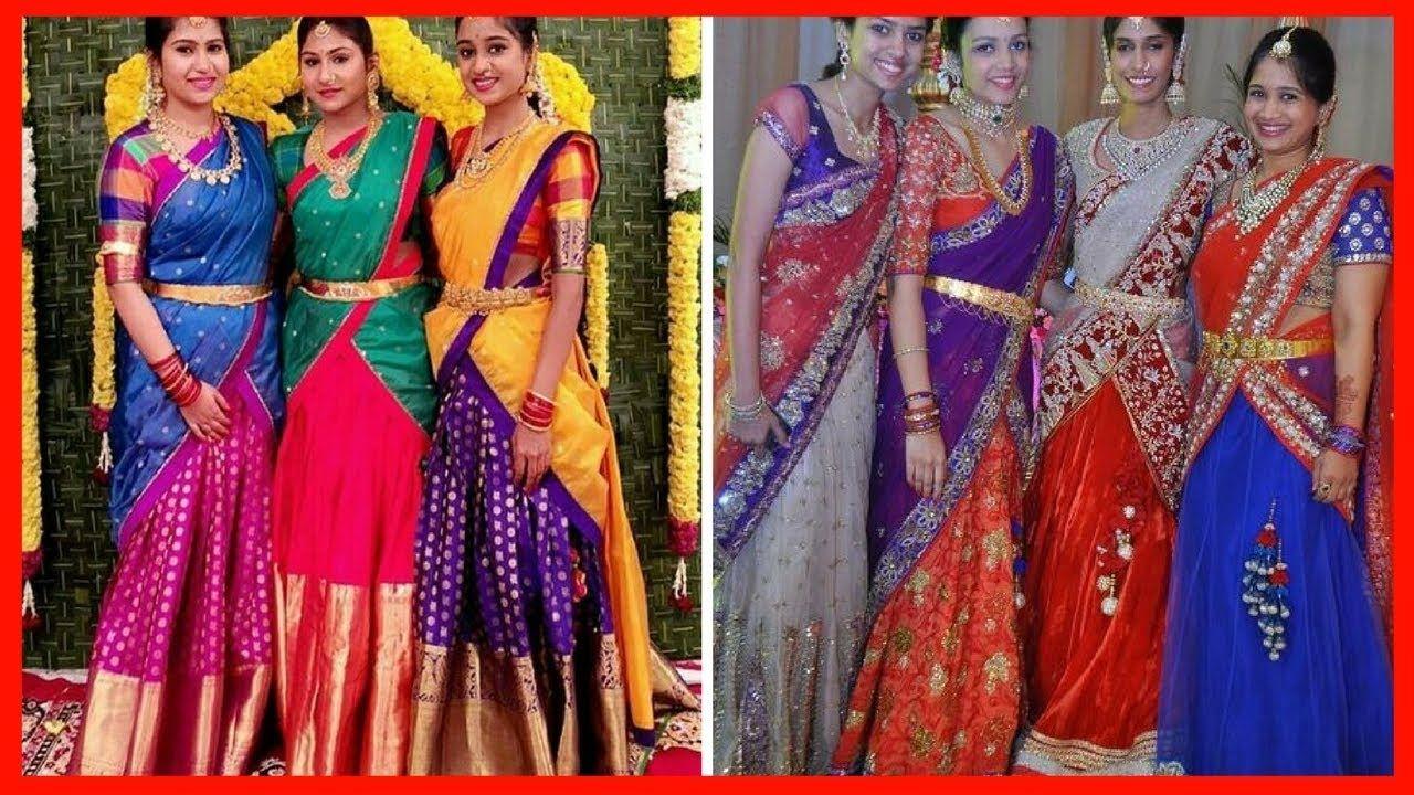 How to langa wear voni sarees