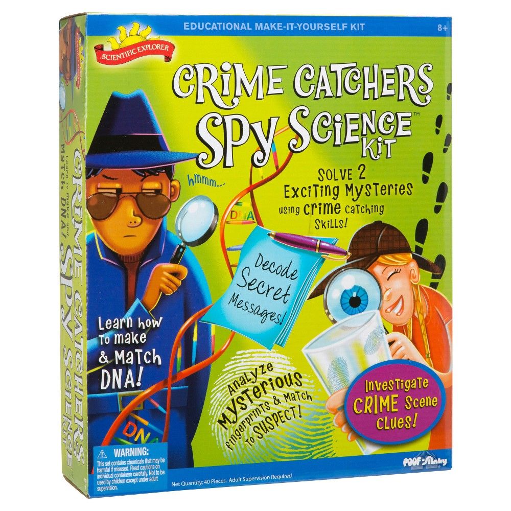Scientific Explorer Crime Catchers Spy Science Kit Products Snap Circuitsr Deluxe Sound Light Combo Walmartcom