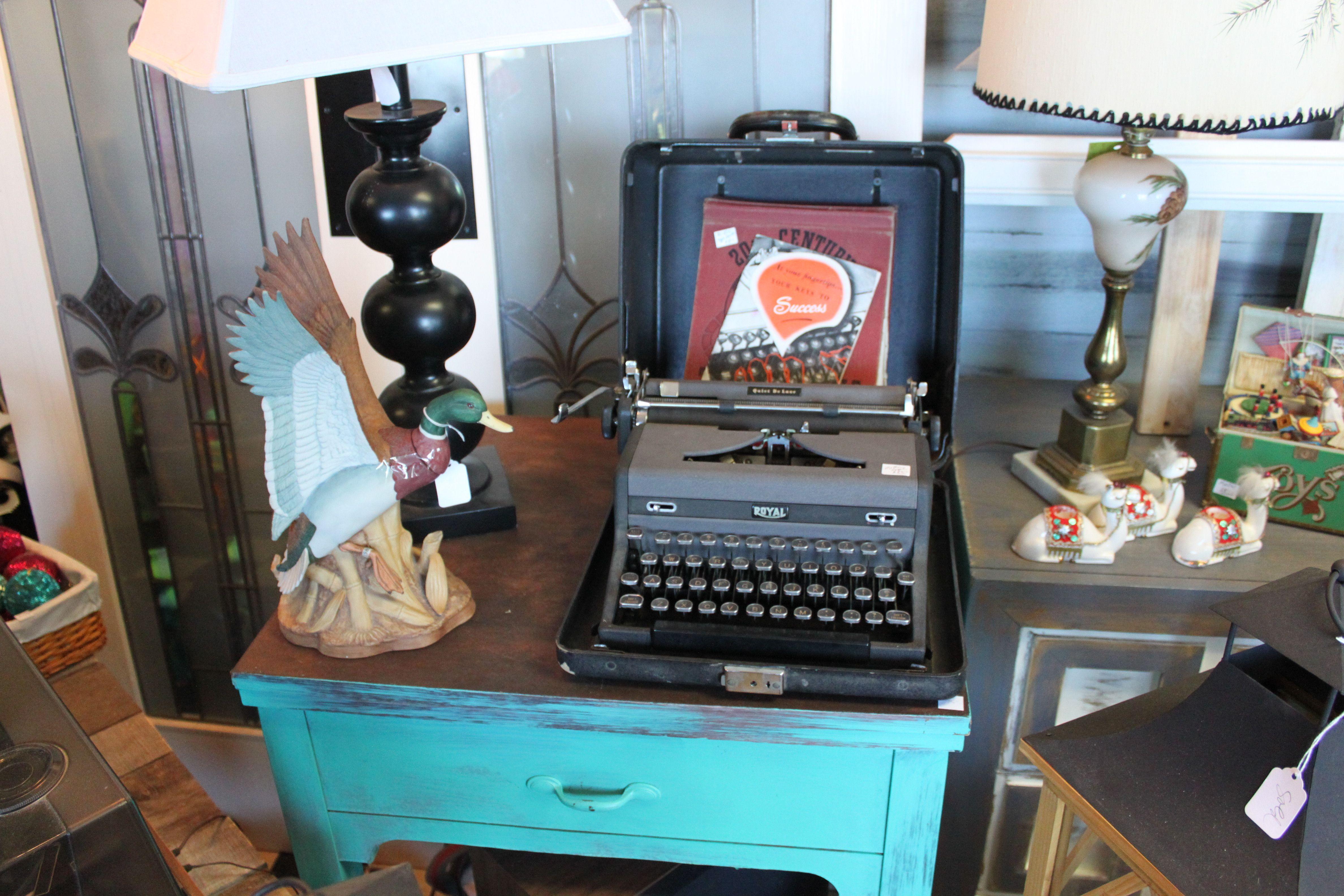 This royal typewriter isn\'t super old but it qualifies as vintage ...