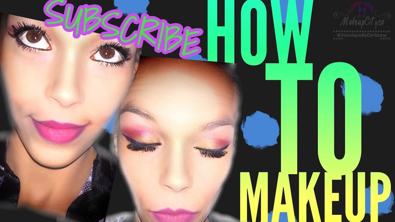 EASY MAKEUP TUTORIAL Makeup, Makeup inspiration
