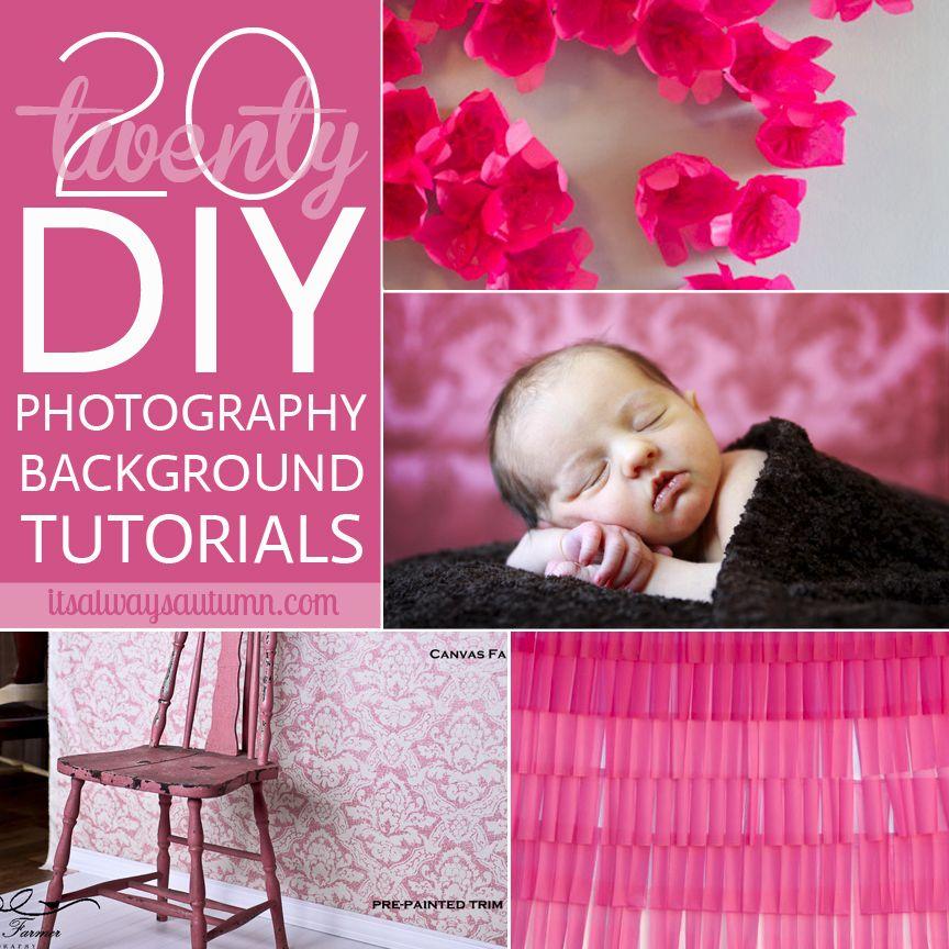 20 fantastic DIY photography backdrops & backgrounds | Backdrops ...