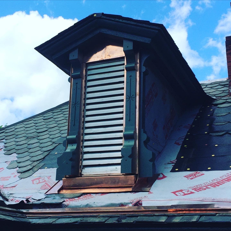 Dormer Restoration Historicpreservation Customcopperandzinc In 2020 Zinc Roof Historic Preservation Metal Roof