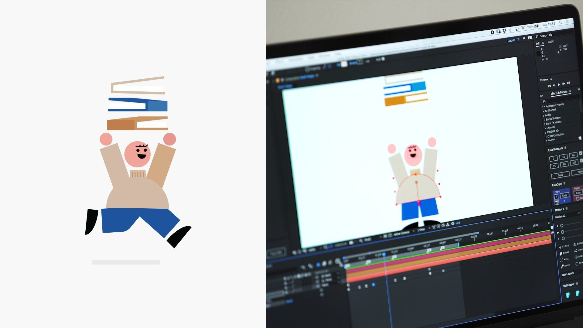 Animating Emotions Using Movement to Convey a Feeling