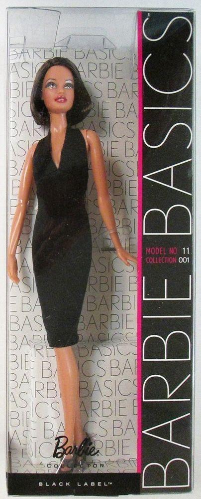 Puppen 02 Sammlung 001 Black Etikett Barbie Basics Modell Nr