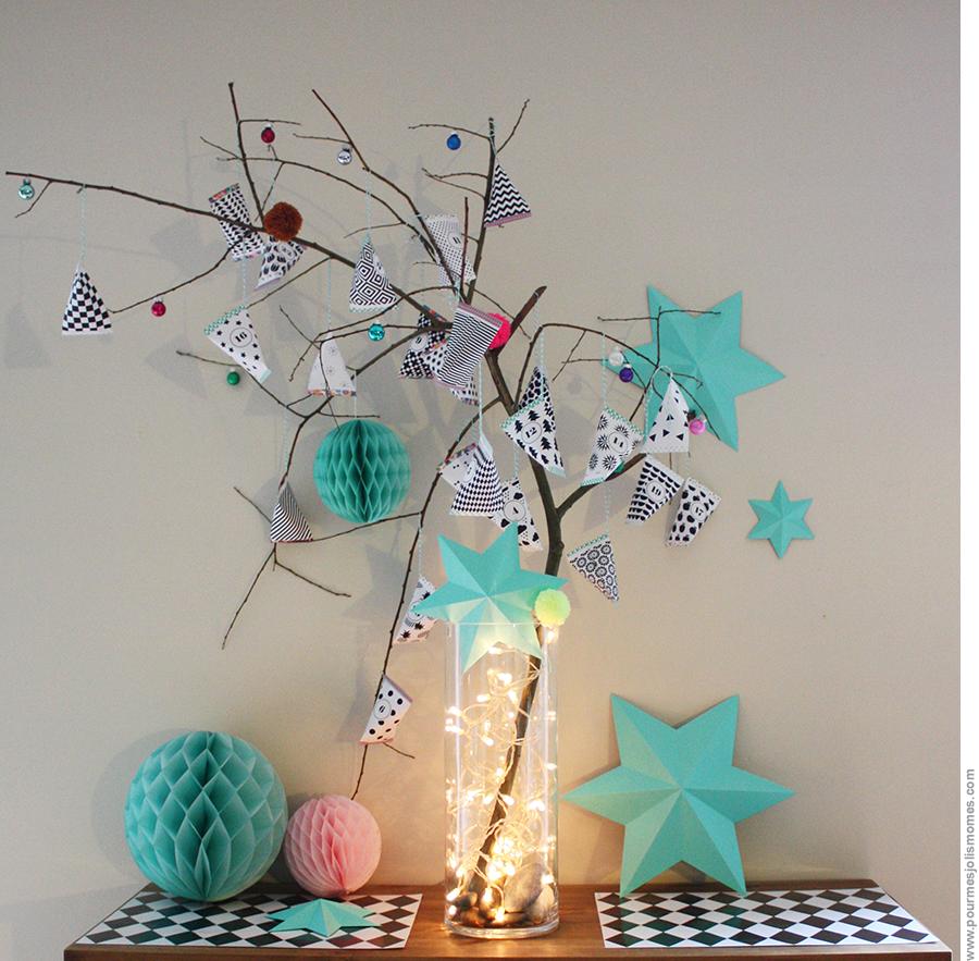 L'arbre à berlingots (calendrier de l'avent // DIY)