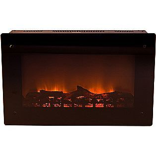 Kmart 215 00 Not Bad Fire Sense Wall Mounted Electric Fireplace Black Fire Sense Wall Mount Electric Fireplace Electric Fireplace