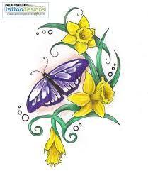 Daffodil Tattoo Designs Google Search Daffodil Tattoo Daffodil Flower Tattoos Daffodils