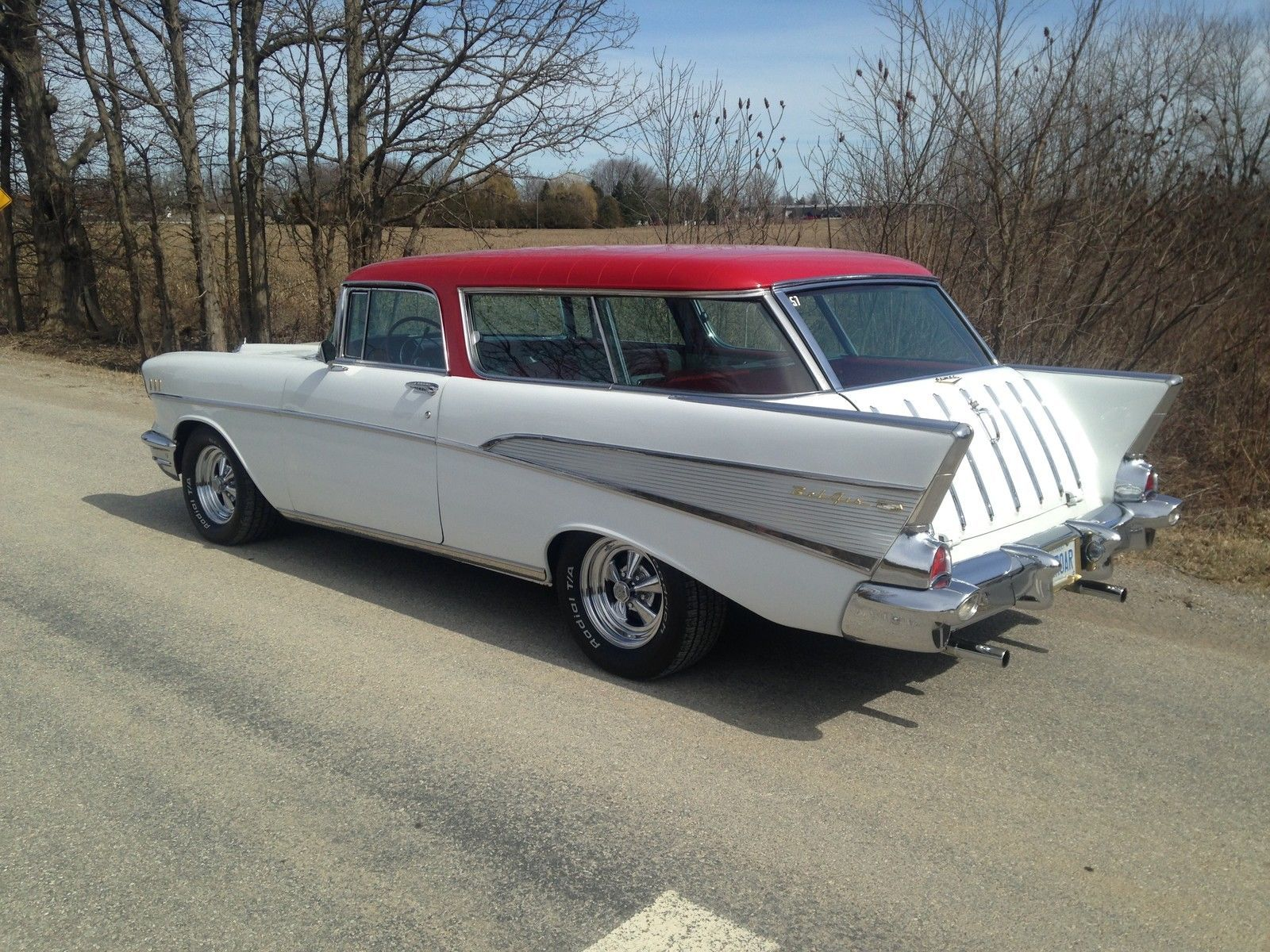 1957 Chevrolet Nomad 2 Door Ebay 1957 Chevrolet Chevy Nomad
