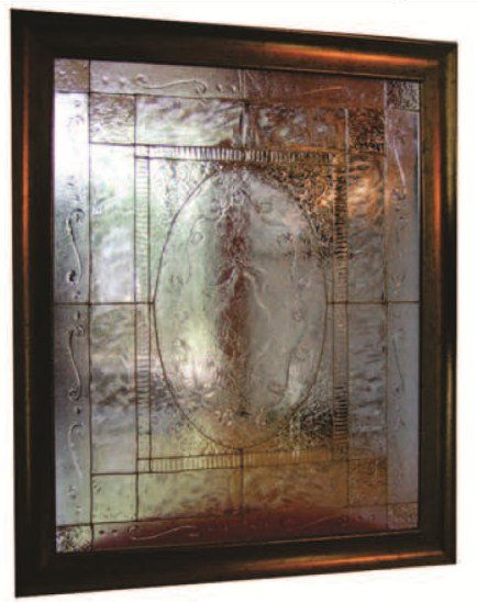 Class 105 'Texture on Glass (Faux Vitrail Technique)' By Julie Lafaille Thursday, May 2, 2013 ...