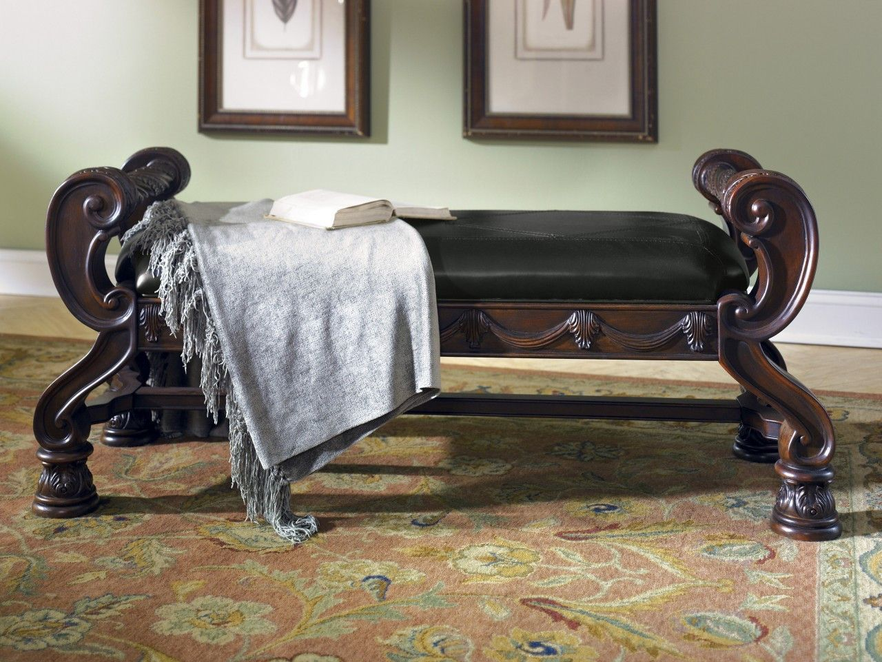 """""""North Shore"""" Accent Bench by Ashley (With images"""