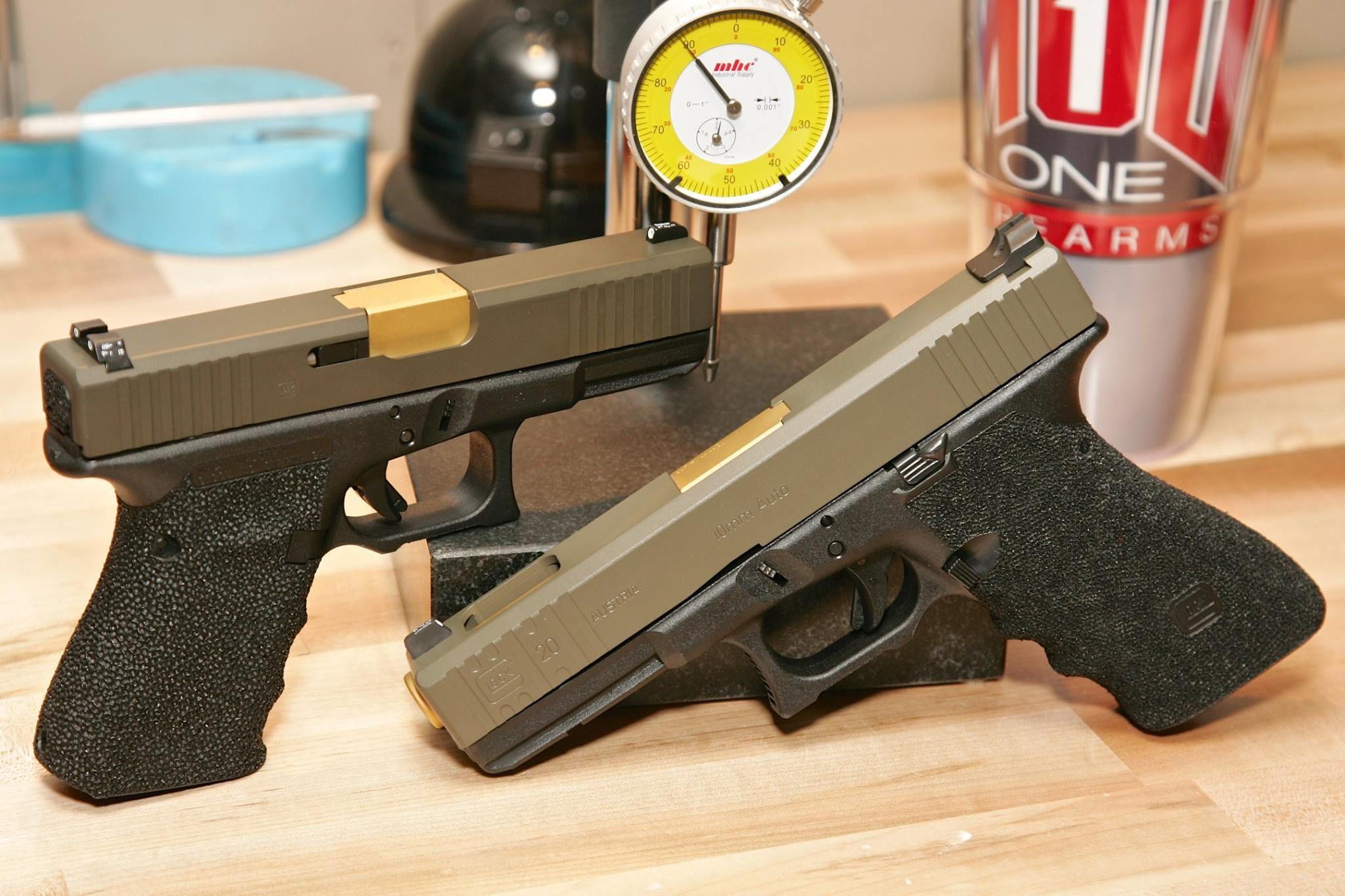 Guns, Titanium Barrel, Glock  | Titanium Gun | Hand guns