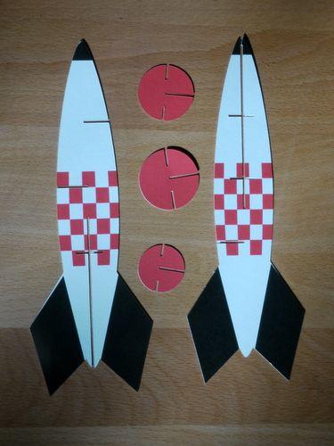 Возьмите к звездам - бумаги ракету | Digitprop - дизайн бумаги