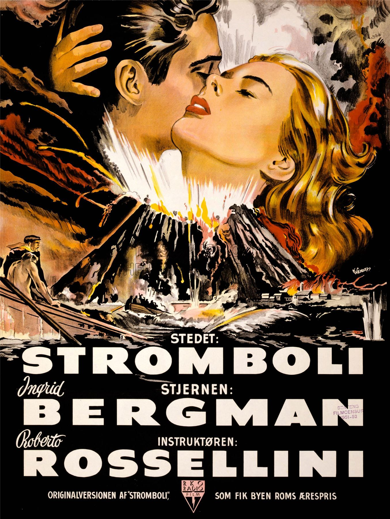 stromboli movie poster google search stromboli poster