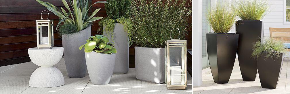 Outdoor Planters Pots And Garden Tools Crate Barrel