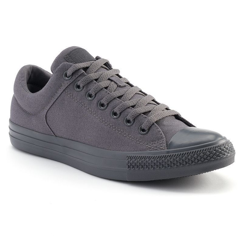 Men's Converse Chuck Taylor All Star High Street Sneakers, Size: 12, Grey