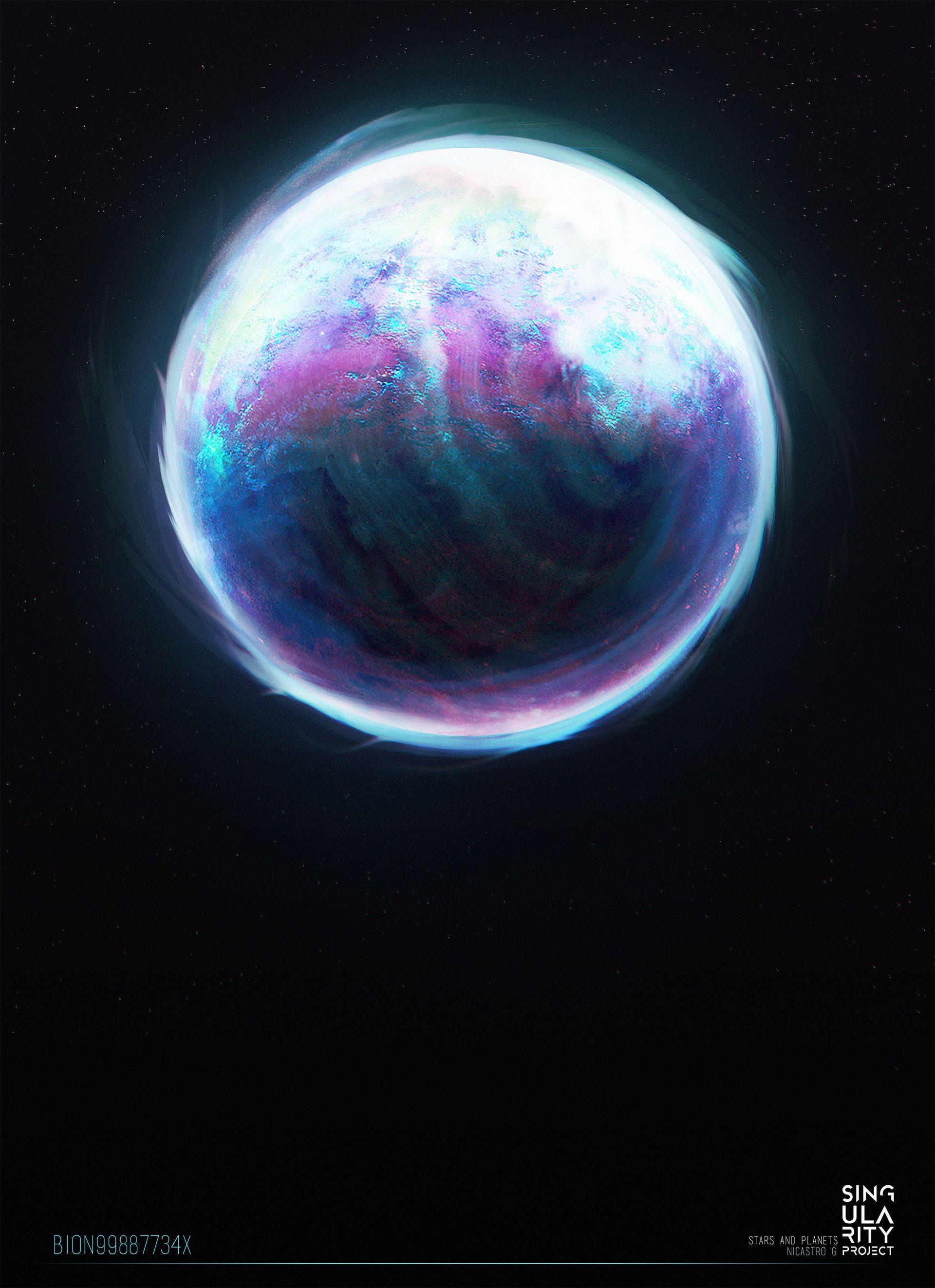 Artstation Singularis Environment Planets Gabriele Nicastro Space Fantasy Planets Space Art