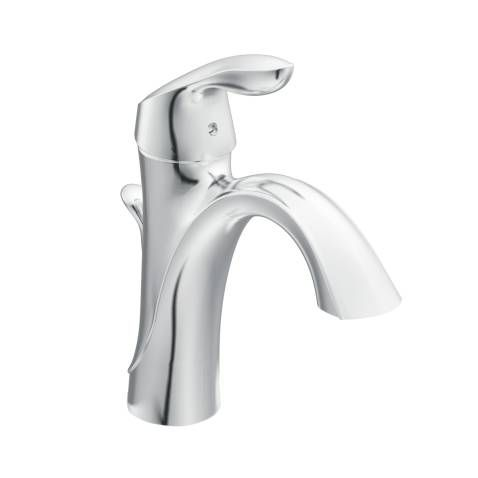 master bath faucets bath accessories moen eva single hole chrome - Bathroom Accessories Moen