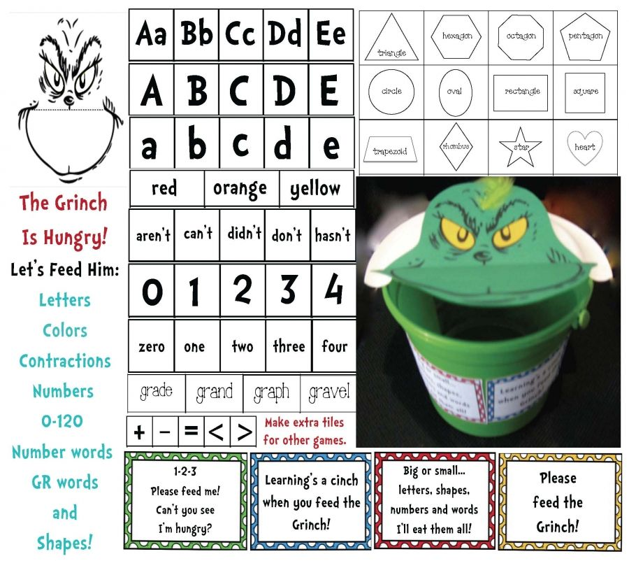 Dr. Seuss Grinch Game | Pinterest