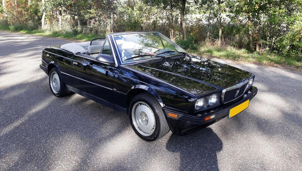 1989 Maserati Bi-Turbo Spyder | Maserati, Maserati models, Spyder