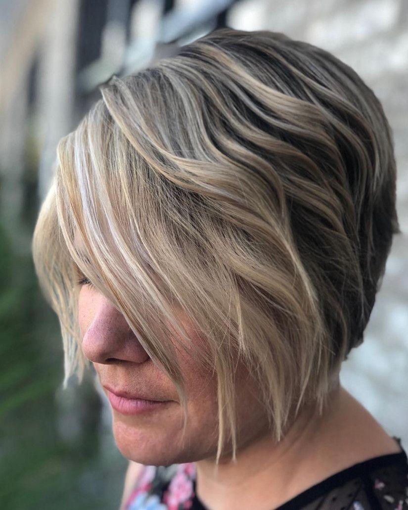 20 Coole Und Niedliche Gestapelte Bob Haarschnitte Fur Frau Bob