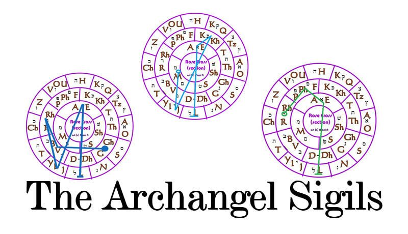 The Archangel Sigils Are Powerful Symbols That Hold The Energy Of