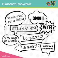 Frases Para Photocall Photo Booth Party Wedding