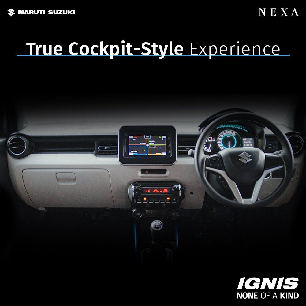 Step Inside An Marutisuzuki Nexa Ignis And See How The Floating