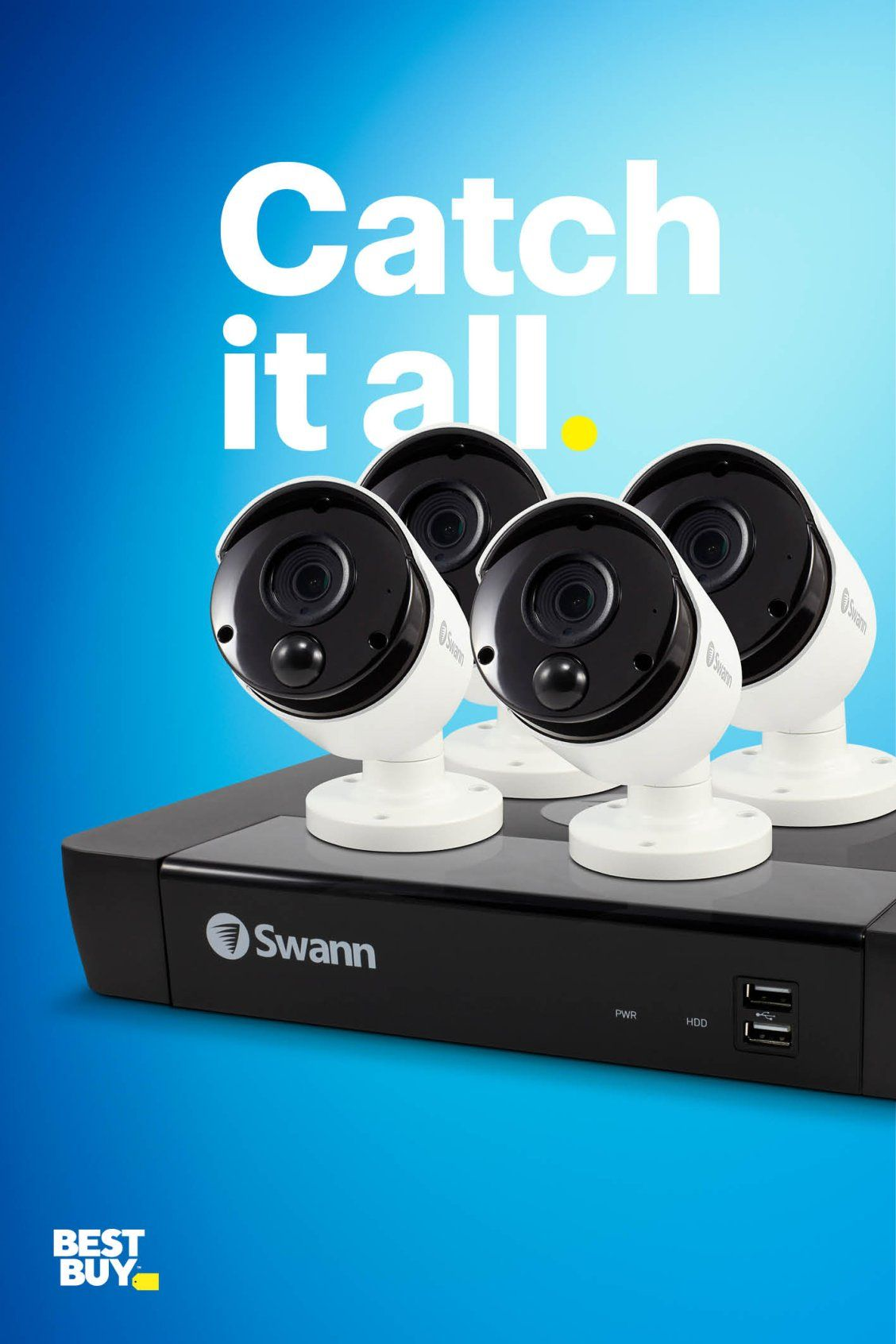 You Can Cover Every Corner With Swann Security Systems Customize A Complete Surveillance Sy Home Security Systems Wireless Home Security Systems Home Security