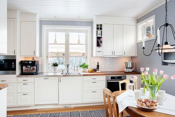 Neue Wandfarben Für Die Küche - Streichen Sie Ihre Küche Frisch ... Farben Kche Streichen