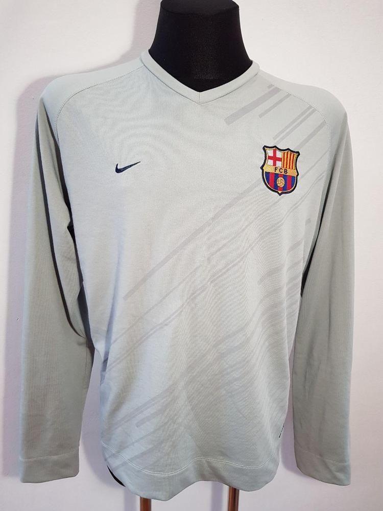 4874d9d1c7f Barcelona training long sleeve jacket gray spain nike football soccer era  messi