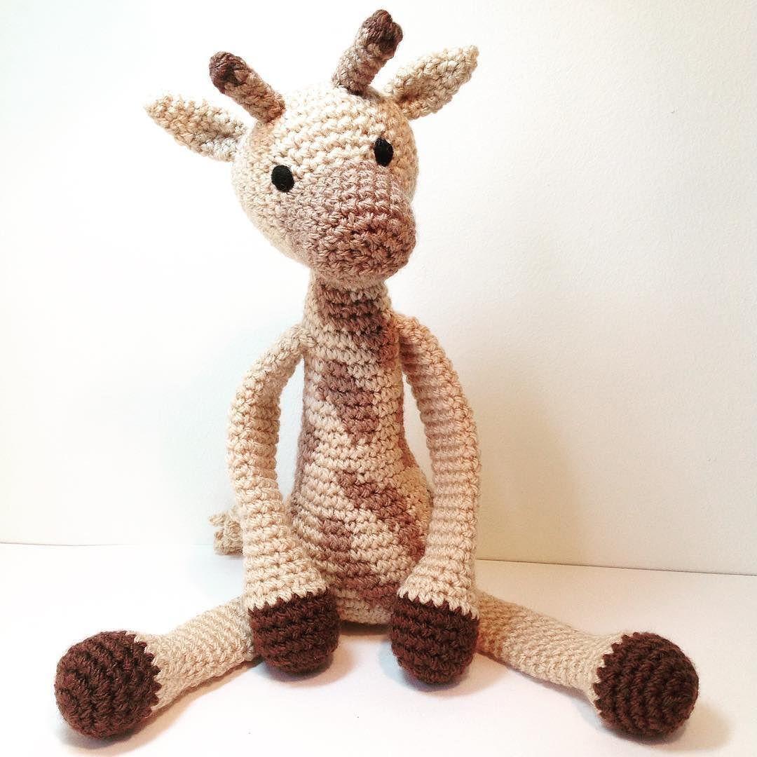 Caitlin\'s sister Genevieve Giraffe . #handmadewithlove #crochet ...