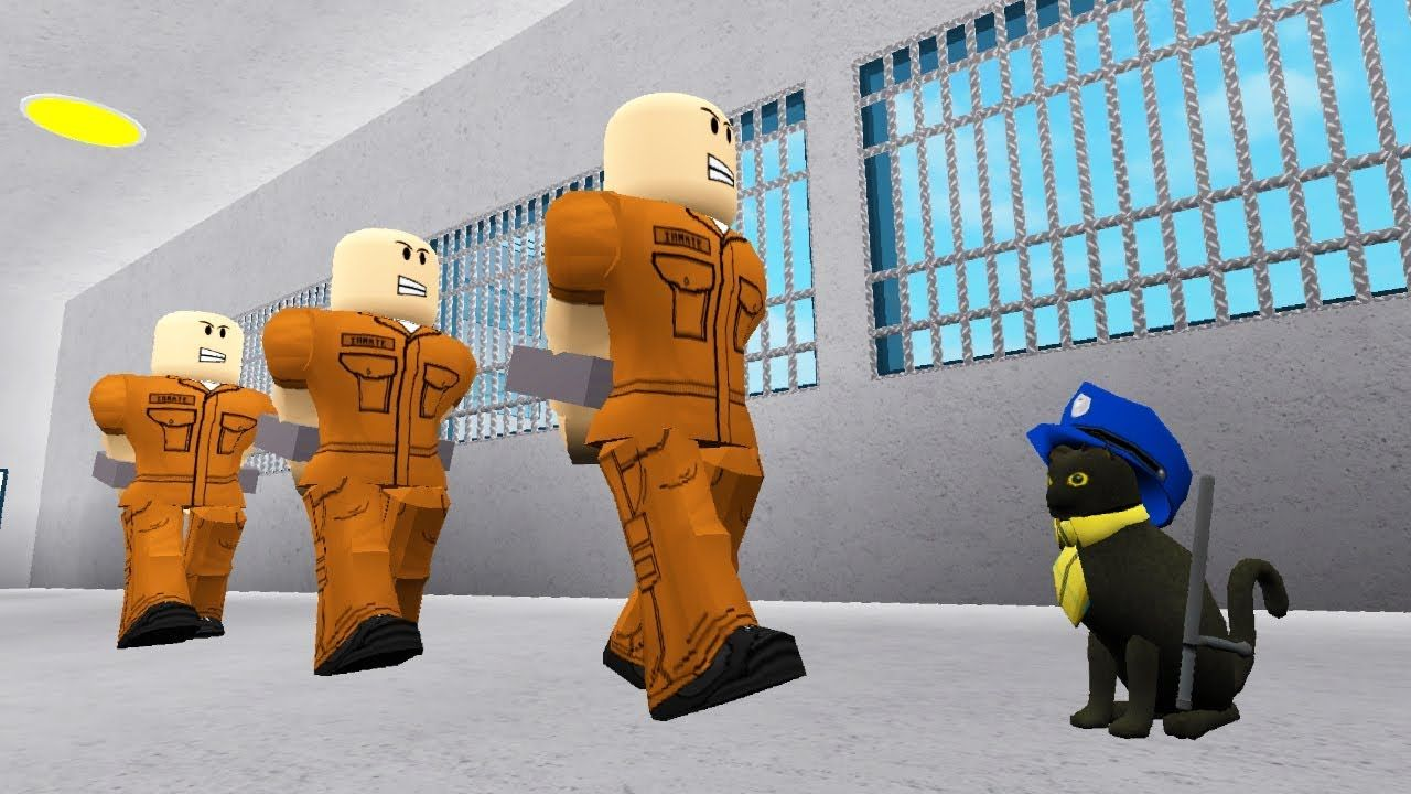 Sir Meows A Lot Is A Police Officer In Roblox Roblox Movie