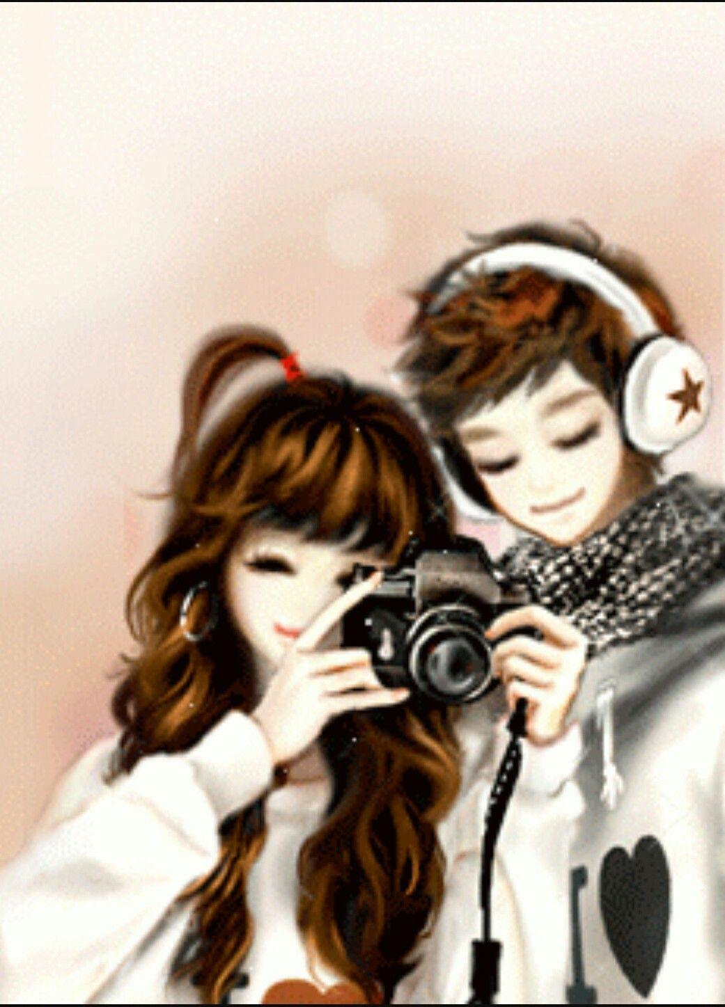 Pin By Mj Love On Munecas Bonitas Anime Korea Cute Couples