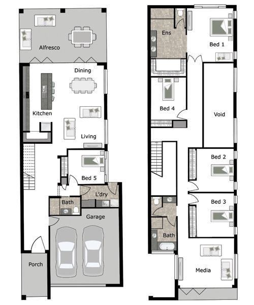 Lincoln Is A Small Lot And Narrow Block Home Design By GW Homes, The Leading