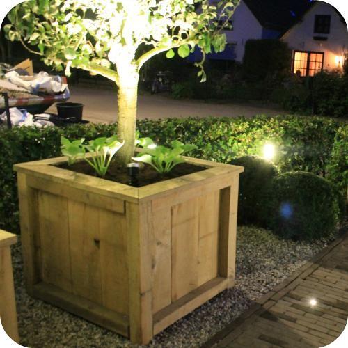 Maak zelf een stoere plantenbak eigen huis en tuin for Foto op hout maken eigen huis en tuin