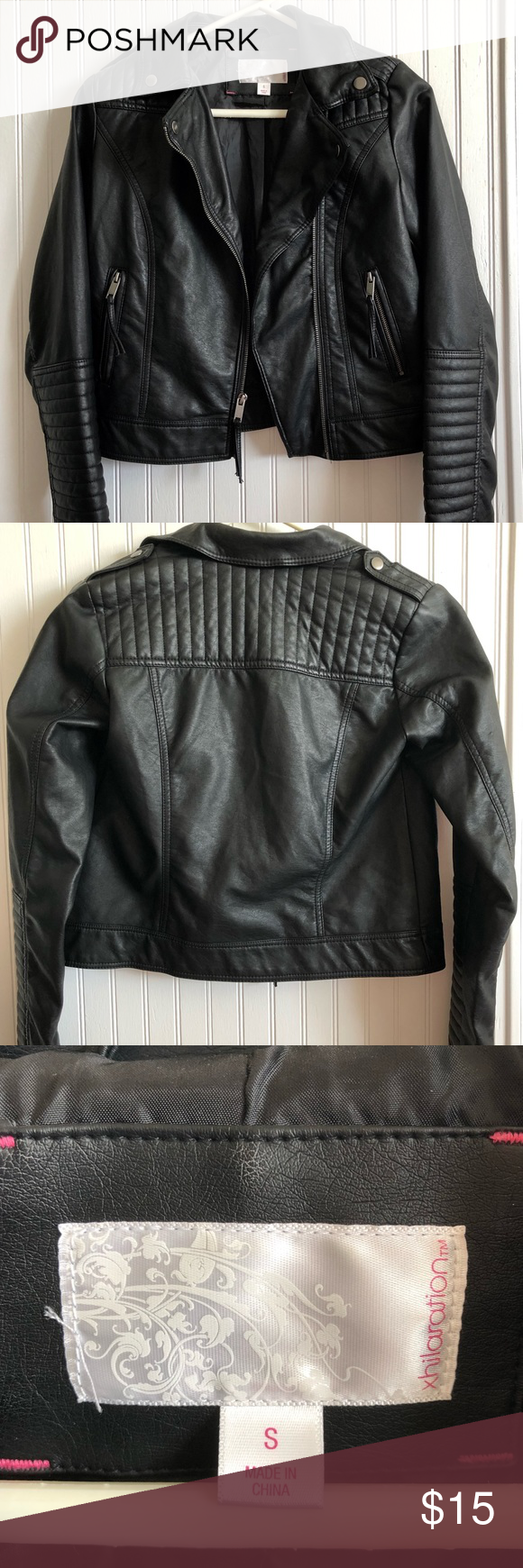 Black Moto Jacket Black Moto Jacket Jackets Moto Jacket [ png ]