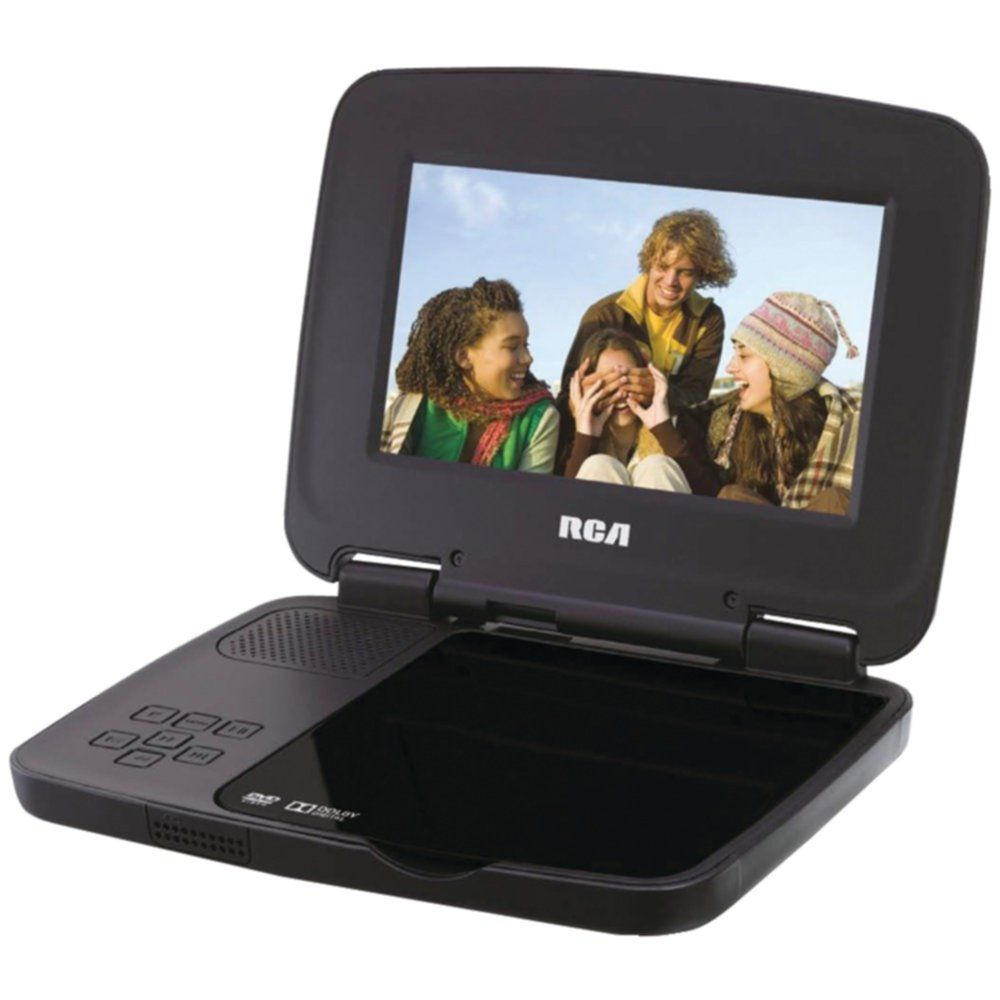 RCA DRC99371EB 7 Portable DVD Player Portable dvd player