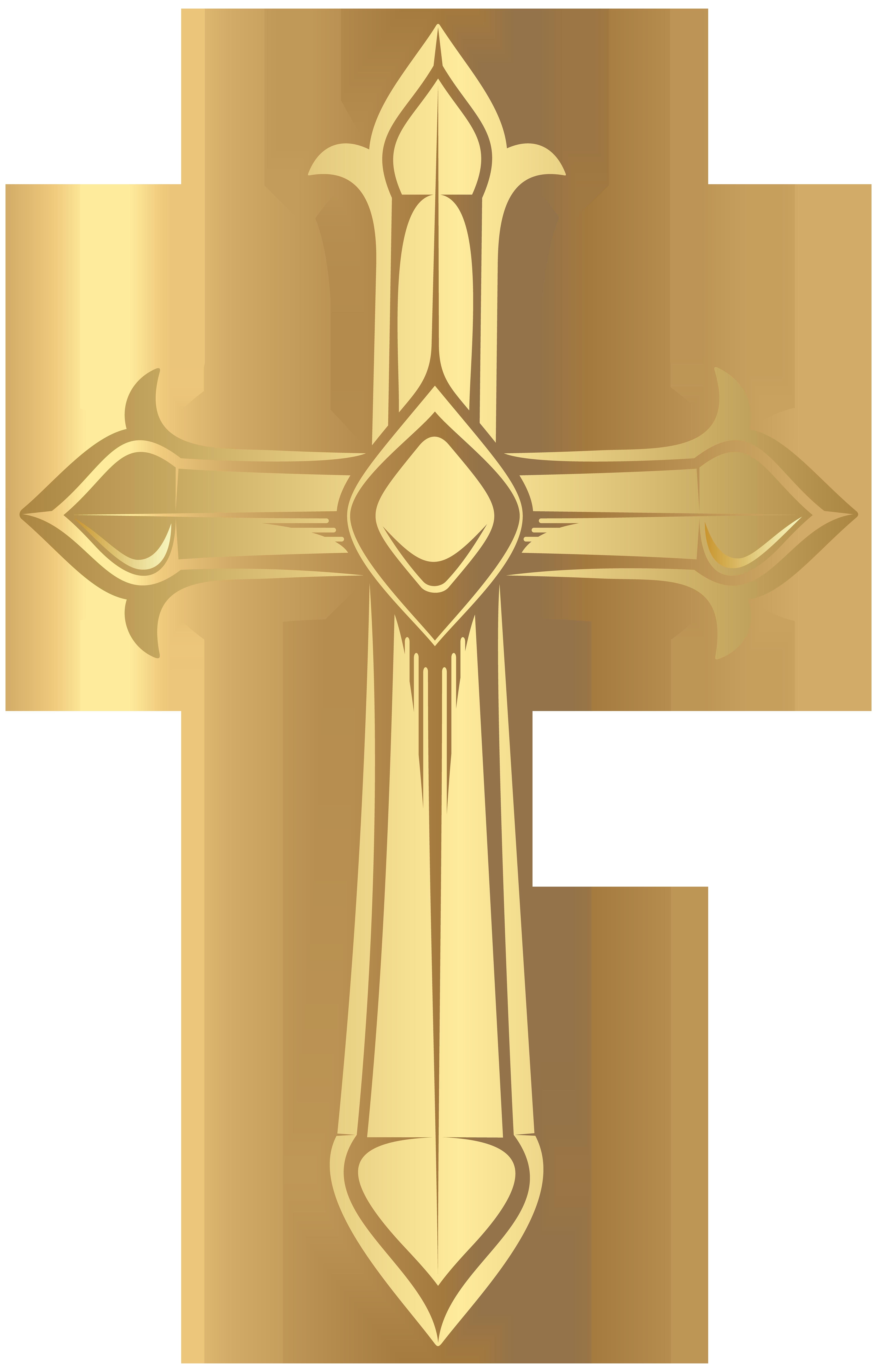 Cross Transparent Png Image High Quality Cruces De Oro Cruz De Cristo Rosa Y Oro