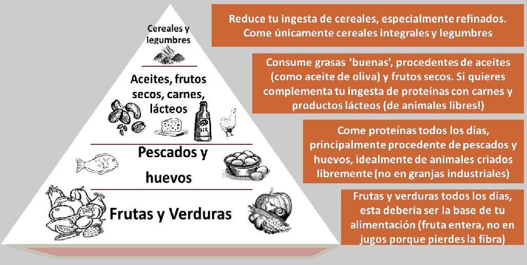 Piramide De Los Alimentos All In One Board Healthy