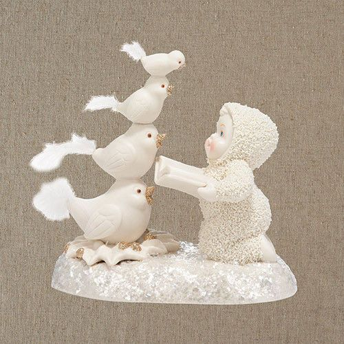 Dept 56 Snowbabies Dream Four Calling Birds BRAND NEW Free Shipping #Dept56 #Figurine