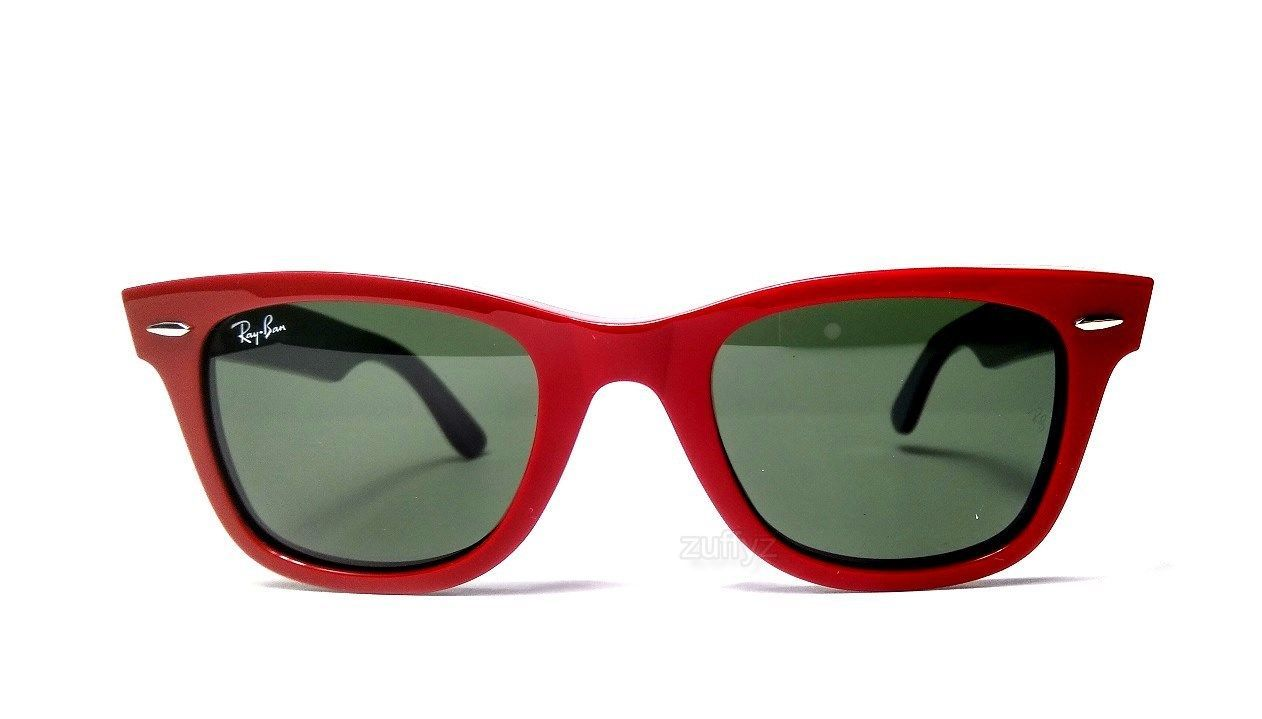f6f147a5fbf Ray Ban Original Wayfarer Red Green Sunglasses 50mm RB2140 955 (eBay Link)