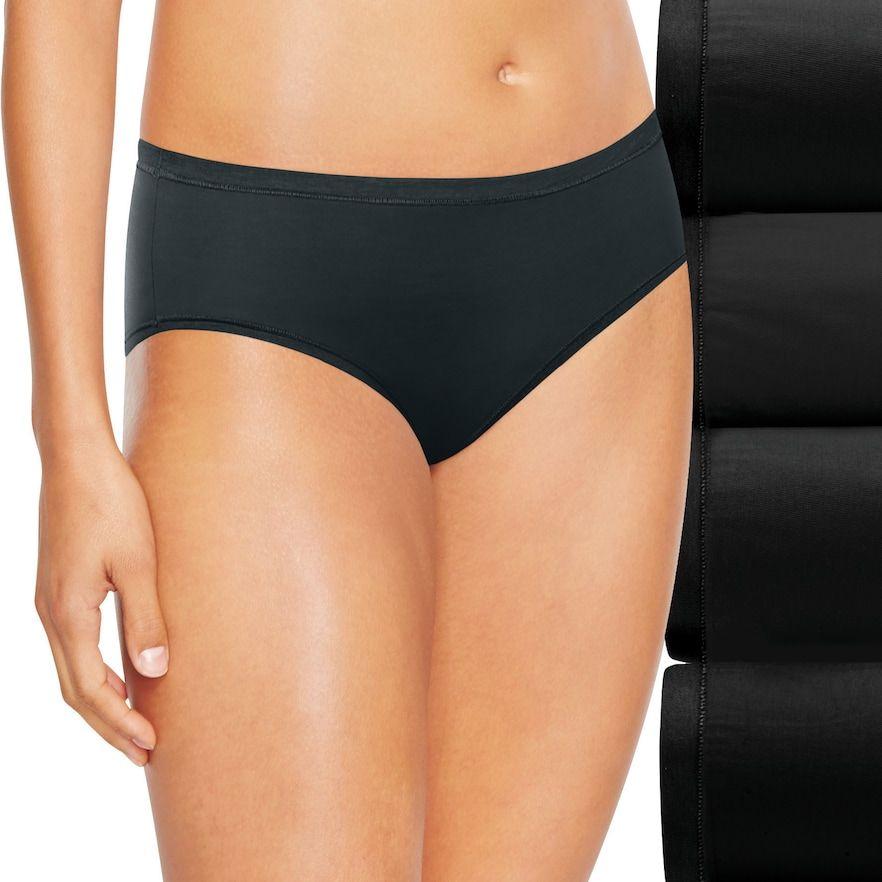 35a73b89e2 Hanes Ultimate 4-pk. Comfort Soft Hipster Panties 46HUSH