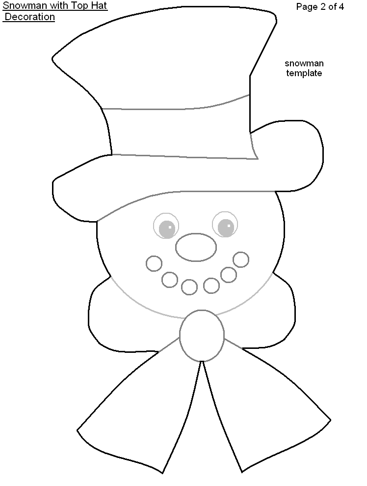 Snowman Coloring Sheet Help Yourself To Copy Paste And Print For Some Fun Snowman Hat Pattern Hat Template Christmas Projects For Kids