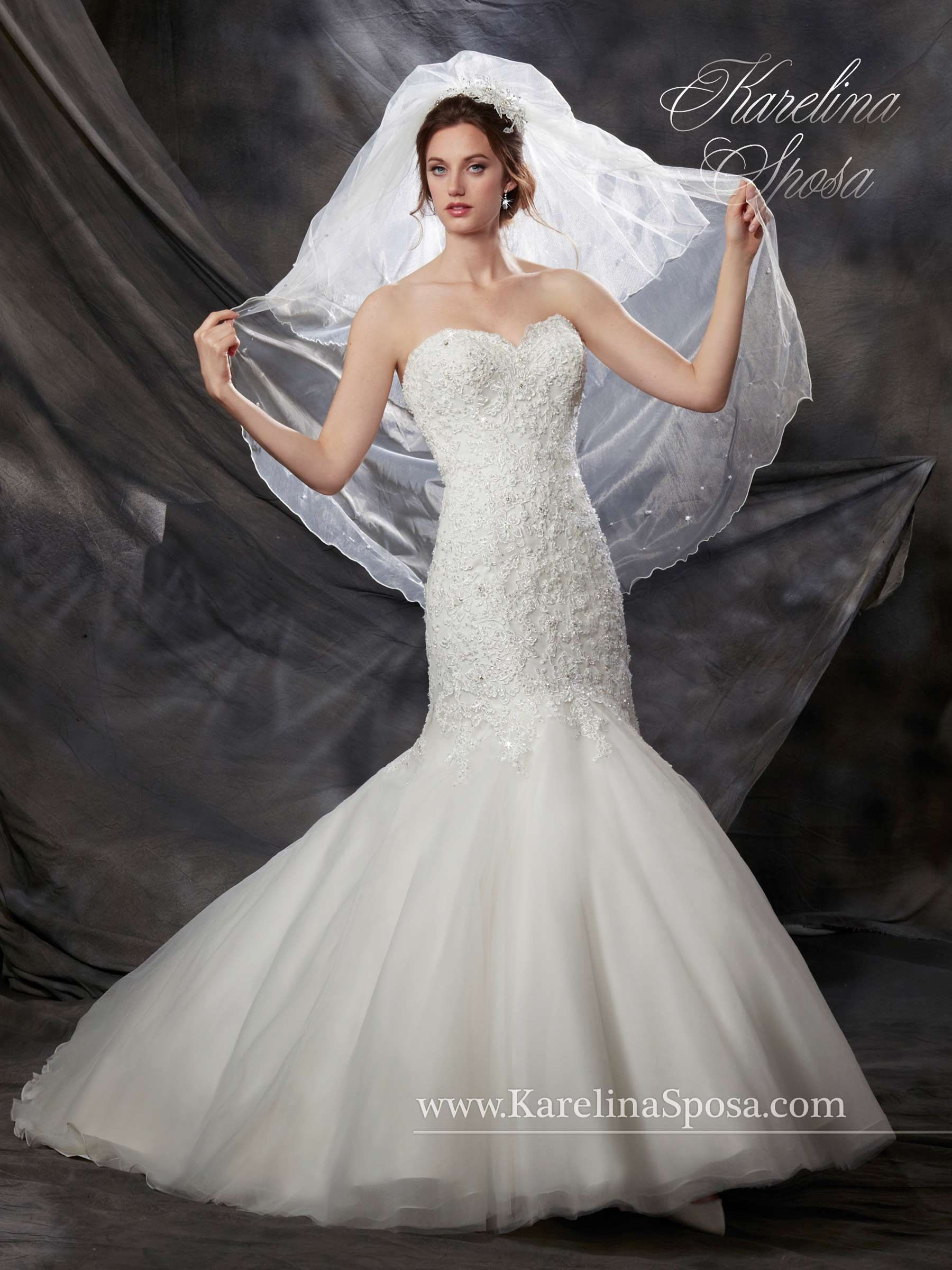 Collection Bridal Gowns Karelina Sposa Style F15 C8035