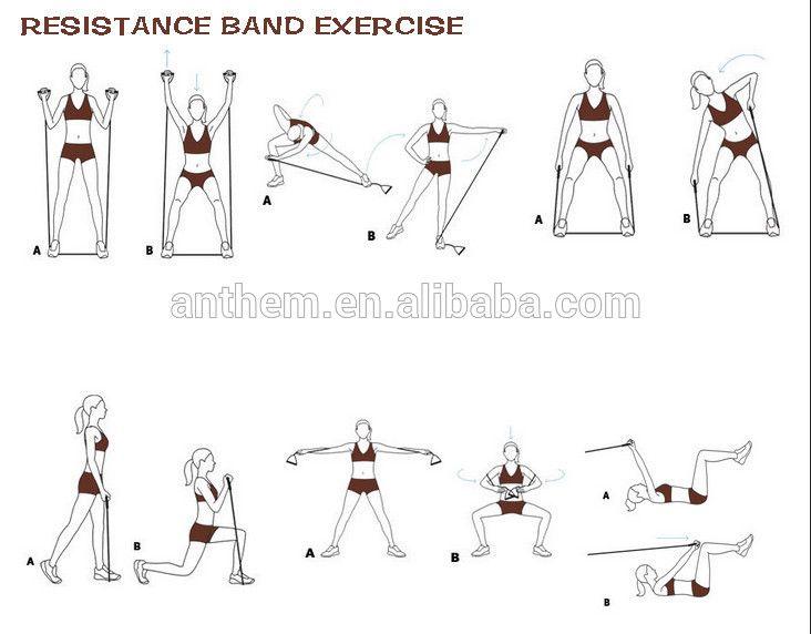 Htb1wn6ehxxxxxxixvxxq6xxfxxx1 Jpg 732 572 Pixels Band Workout Resistance Band Exercises Resistance Band