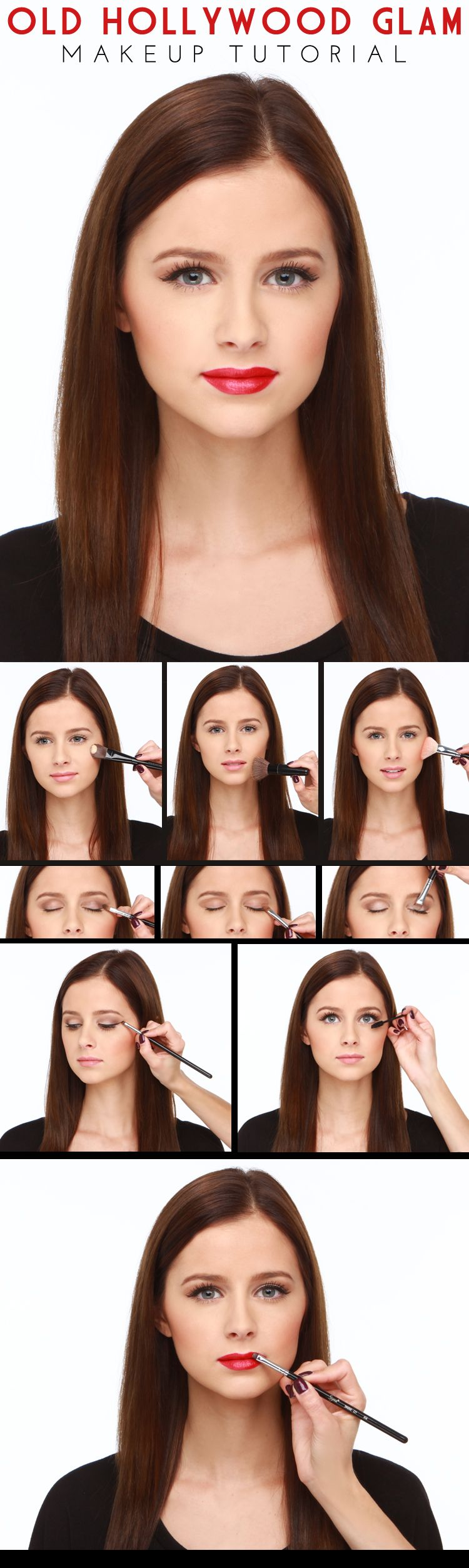 Lulus how to hollywood glam makeup tutorial glam makeup makeup lulus how to hollywood glam makeup tutorial baditri Image collections