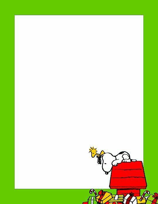 Pliego Snoopy Navidad.