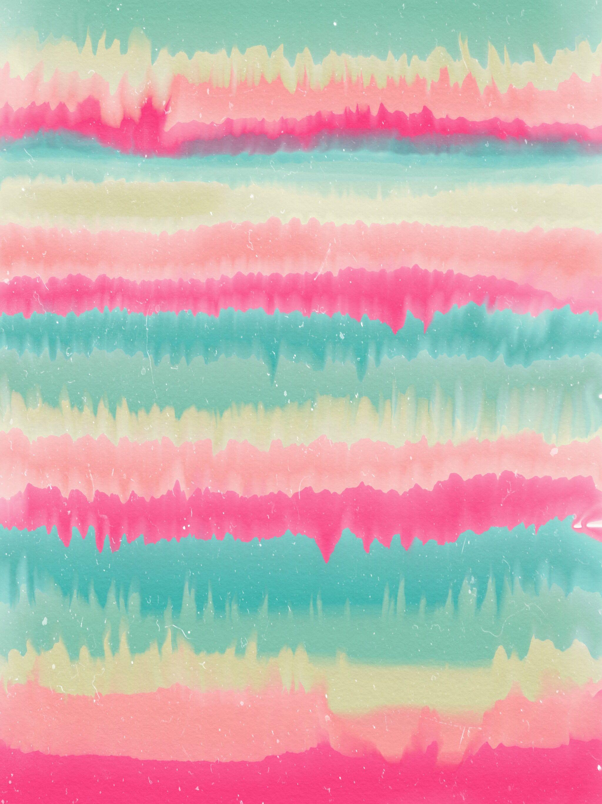 Watercolor Background Wallpaper Print Art Artprint Collage